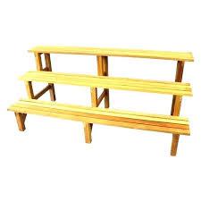 three tier wooden stand tiered garden stand gardens a tiered wooden plant stands 3 tier planter three tier wooden stand