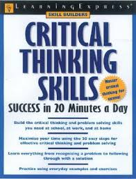 critical thinking skills success in minutes a day by lauren b  3138641