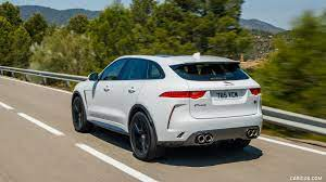 Great savings & free delivery / collection on many items. 2019 Jaguar F Pace Svr Color Fuji White Rear Three Quarter Caricos