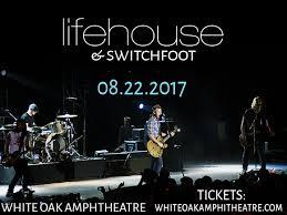 White Oak Amphitheater Greensboro Nc Seating Chart Lifehouse Switchfoot Tickets 22nd August White Oak