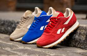 the reebok classic leather summer suede pack is arriving just in time