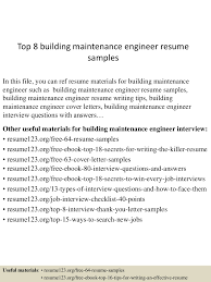 Maintenance Engineer Cover Letter For Resume Tomyumtumweb Com