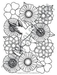 Bird Coloring Coloring Pages Of A Bird Page Birds Plus Outline