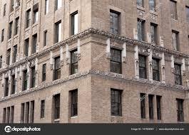 Fenster Der Gebäude In New York City Hautnah Stockfoto Bignai