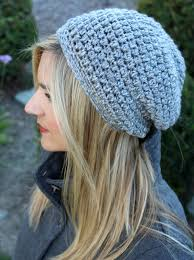 Hipster Beanie Crochet Pattern Best Free Slouchy Crochet Hat Pattern With Video Tutorial And Instructions