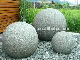 grandma garden stones round garden stones grey granite ball for garden and park garden stones for