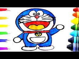 It's so funny my best friends, so, let's start draw. Doraemon Drawing And Painting For Kids Learn With Colors Yourtube School Youtube Painting For Kids Doraemon Learning Colors