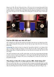 Mua hàng ở đâu để có được giá loa JBL chính hãng tốt nhất by amthanhthienvu  - issuu