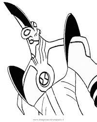 Disegno Ben10ultragigante2 Personaggio Cartone Animato Da Colorare