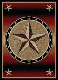 texas star rug delectably yours decor rust western rug runner or texas star cowhide rugs