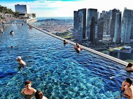 infinity pool singapore night. Charming Marina Bay Sands Infinity Pool Sunset Pictures Design Ideas Singapore Night E