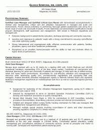 Resume Objective For Management throughout Case Manager Resume Objective