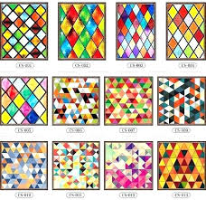 stained glass stickers for doors windows translucent church wardrobe ndows foil decorative ndow home