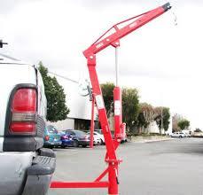 500 Lb Pickup Truck Hydraulic Pwc Dock Jib Engine Hoist Crane Hitch ...