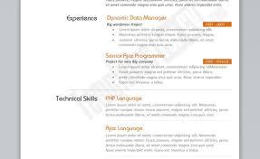 Marketing Resumes Templates Resume Sample Accounting Contemporary