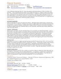 Scrum Master Resume Master Resume Sample Barber Examples Student voZmiTut 21