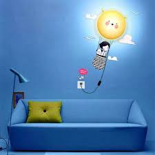 Kids Night Light Wall Sconce Lamp | Nursery | Wall Decals