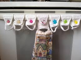 Kitchen Towel Holder Towel Holder Towel Ring Kitchen Towel Holder Crochet Towel