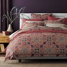 the company s highland paisley duvet or comforter