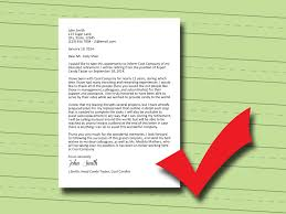 Retirement Letter How To Write A Retirement Letter 14 Steps With Pictures