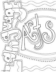 Small Picture Subject Cover Pages Coloring Pages Classroom Doodles