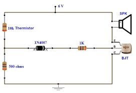 simple fire alarm circuit using thermistor, germanium diode and lm341 fire alarm system pdf file at M Series Fire Alarm Wiring