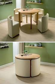 Compact table for a small kitchen. Functional idea,