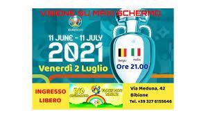 PARTITA ITALIA - BELGIO - EventiFVG.it