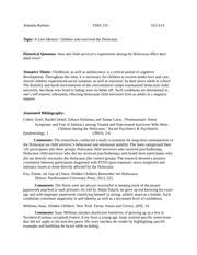 children of the holocaust research paper children in the  1 pages annotated bibliography