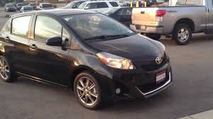 2012 Toyota Yaris SE manual all new Shawn Stittleburg - YouTube