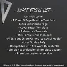Instant Download The Anna Resume Resumedesignco Com