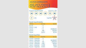 3 draws per week ensures a steady stream of. Get Superenalotto Estrazioni Microsoft Store
