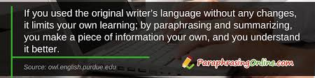 discover how to paraphrase in an essay accurately reasons to paraphrase an essay