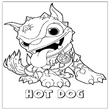 Small Picture skylander coloring pages free 100 images skylanders giants pop