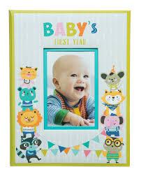 Babys First Milestone Memory Scrapbook