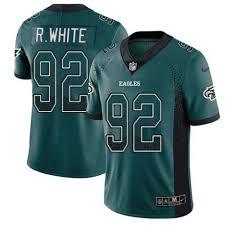 Philadelphia Football Fashion Youth Eagles Jersey Reggie Green Limited Drift 92 Outlet White Rush
