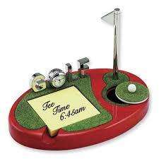 elegant golf desktop set