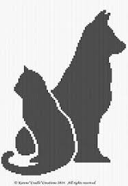 Chart Dog Graph Details About Crochet Patterns Cat And Dog Graph Afghan Pattern Chart