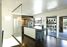 glass room dividers glass room dividers for modern kitchen designs ideas with wood kitchen divider wall