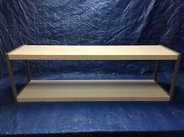 ikea udden shelf unit white silver