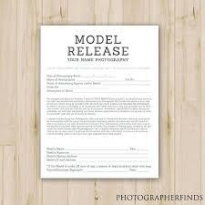 Photography Model Release Form Template Australia Booking – Peero Idea