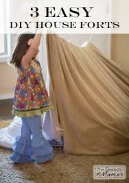 Easy Forts To Build 3 Easy Diy Forts Using Household Items Household Items Forts