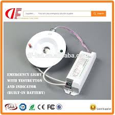 battery backup emergency lighting recessed led emergency down light with 3 hours back up battery duration