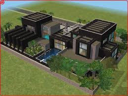 Small Picture Sims 2 Houses Modern Colorful Home Decor sims 3 Pinterest
