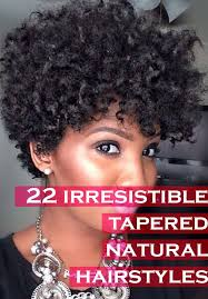 22 irresistible tapered natural hairstyles
