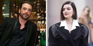 Are Lucy Hale and Riverdale's Skeet Ulrich Dating? - Kissing Photos