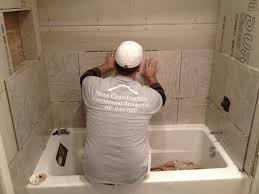 bathroom fascinating how to install shower wall tile lied