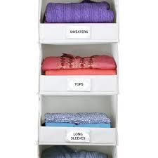 Amazoncom The GUS No Sag Hanging Essential 4 Shelf Closet