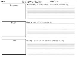 Story Template Beginning Middle End For The Love Of First Grade Freebie Friday Writing Templates