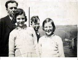 May Chandler with her family (born Lilian Mary Lankshear) Ron's cousin who  died in Bethnal Green Tube disaster in WW2